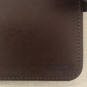 Coach Bags - Coach Brown leather wallet